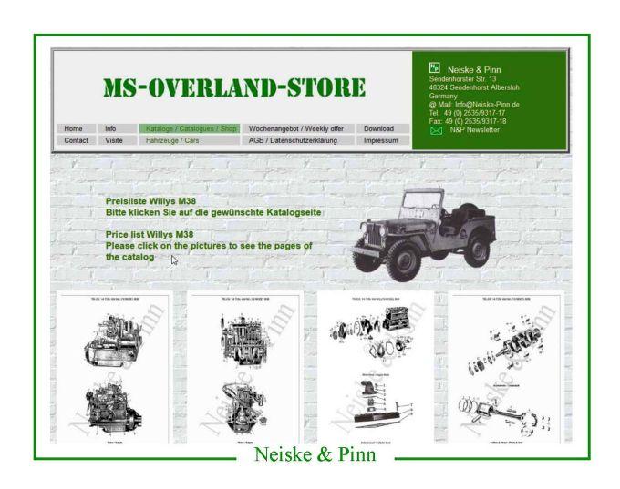 Anlasserschalter Jeep Willys MB 1941//1945