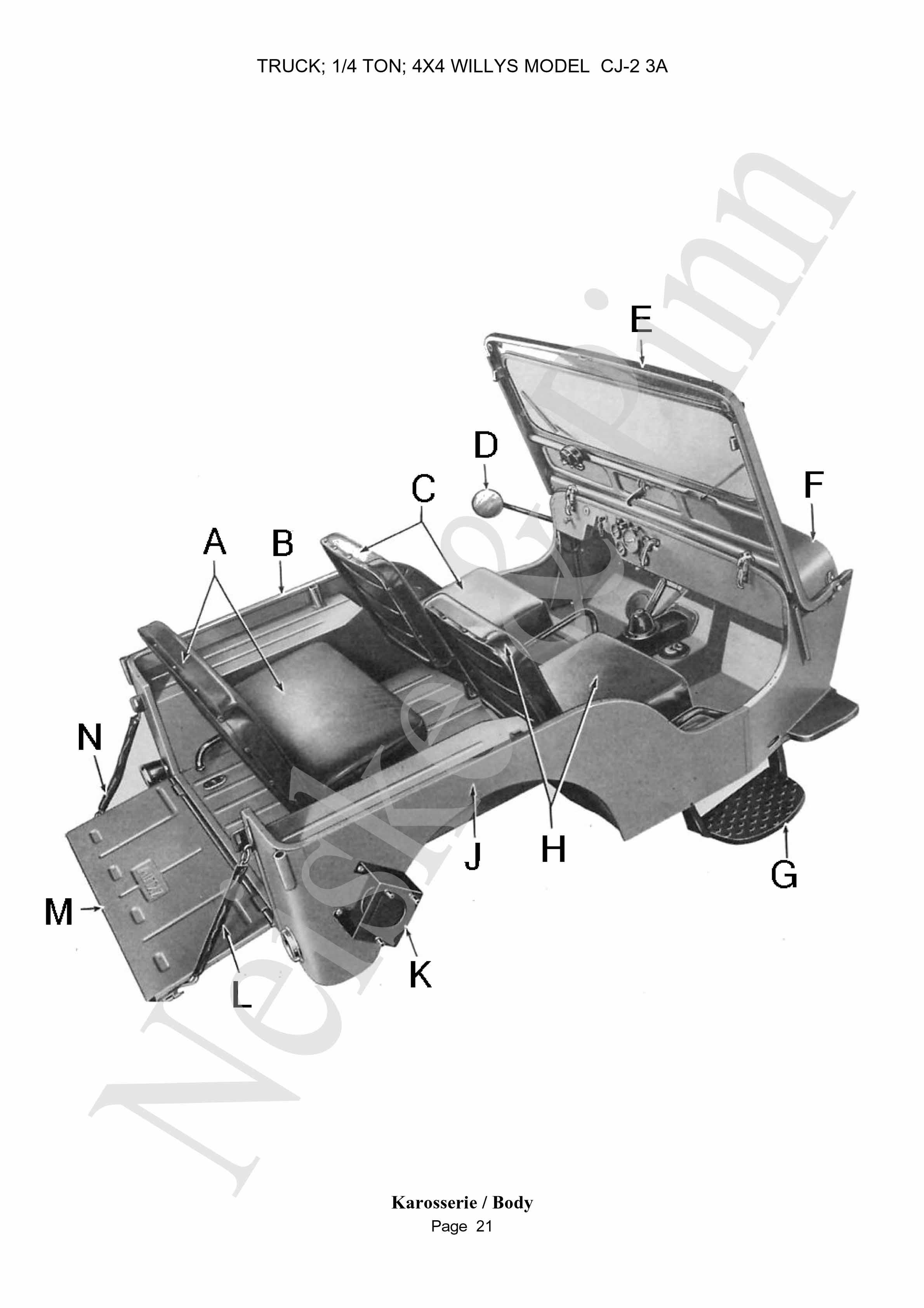 CJ2A Preisliste - Price list CJ2A