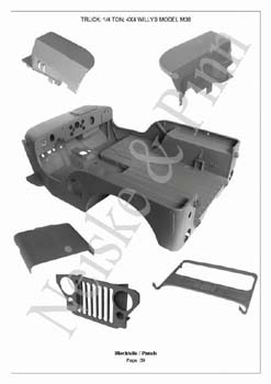 Willys M38  Jeep GPW